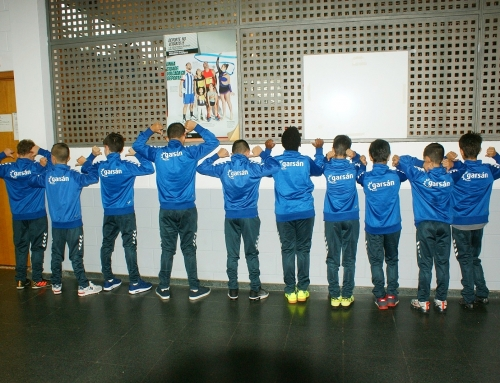 Colaboración con el equipo Alevín de Castrelo Futbol Sala de Burela
